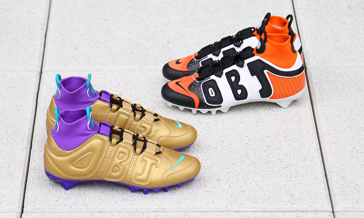 OBJ's $2.2 Million Watch May Have Distracted You From His Shattered Backboard-Inspired Cleats