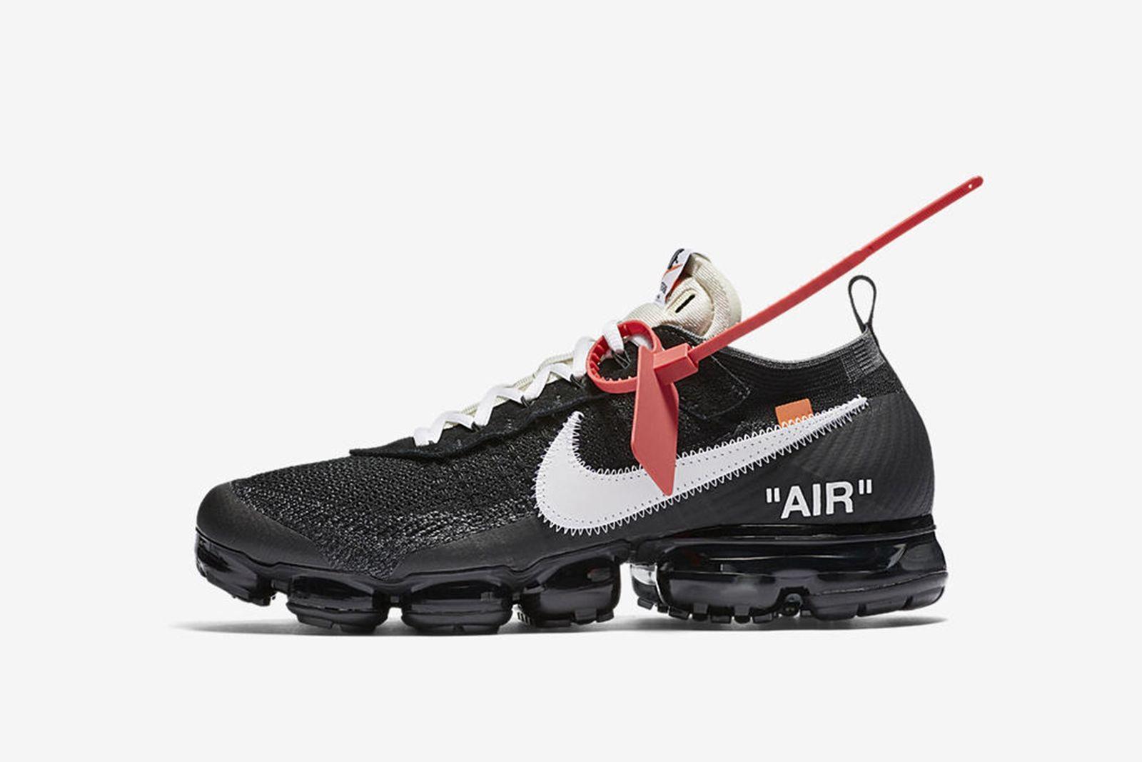 vapormax GOAT Nike The Ten OFF-WHITE c/o Virgil Abloh