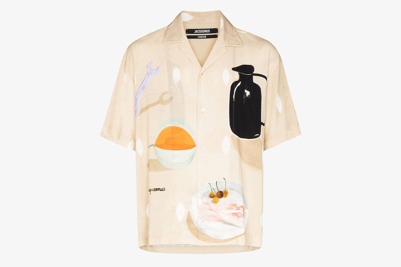 La Chemise Henri Still Life Shirt