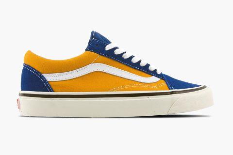 Vans Old Skool ESTATE BLUE On Feet YouTube