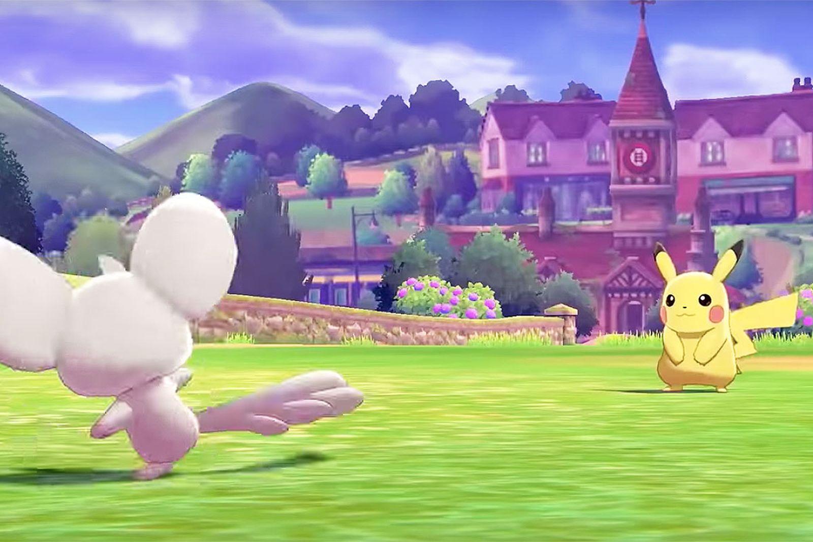 pokemon new sword shield character