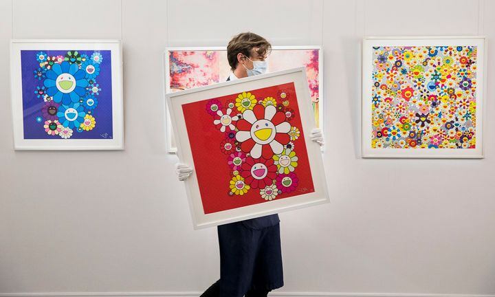 Takashi Murakami artwork
