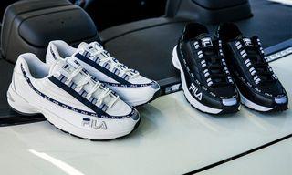 FILA's Archival DSTR97 Sneaker Returns in Premium Leather