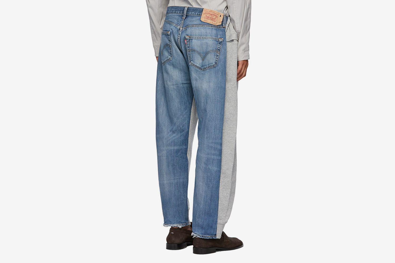 Vintage Jogging Jeans Lounge Pants