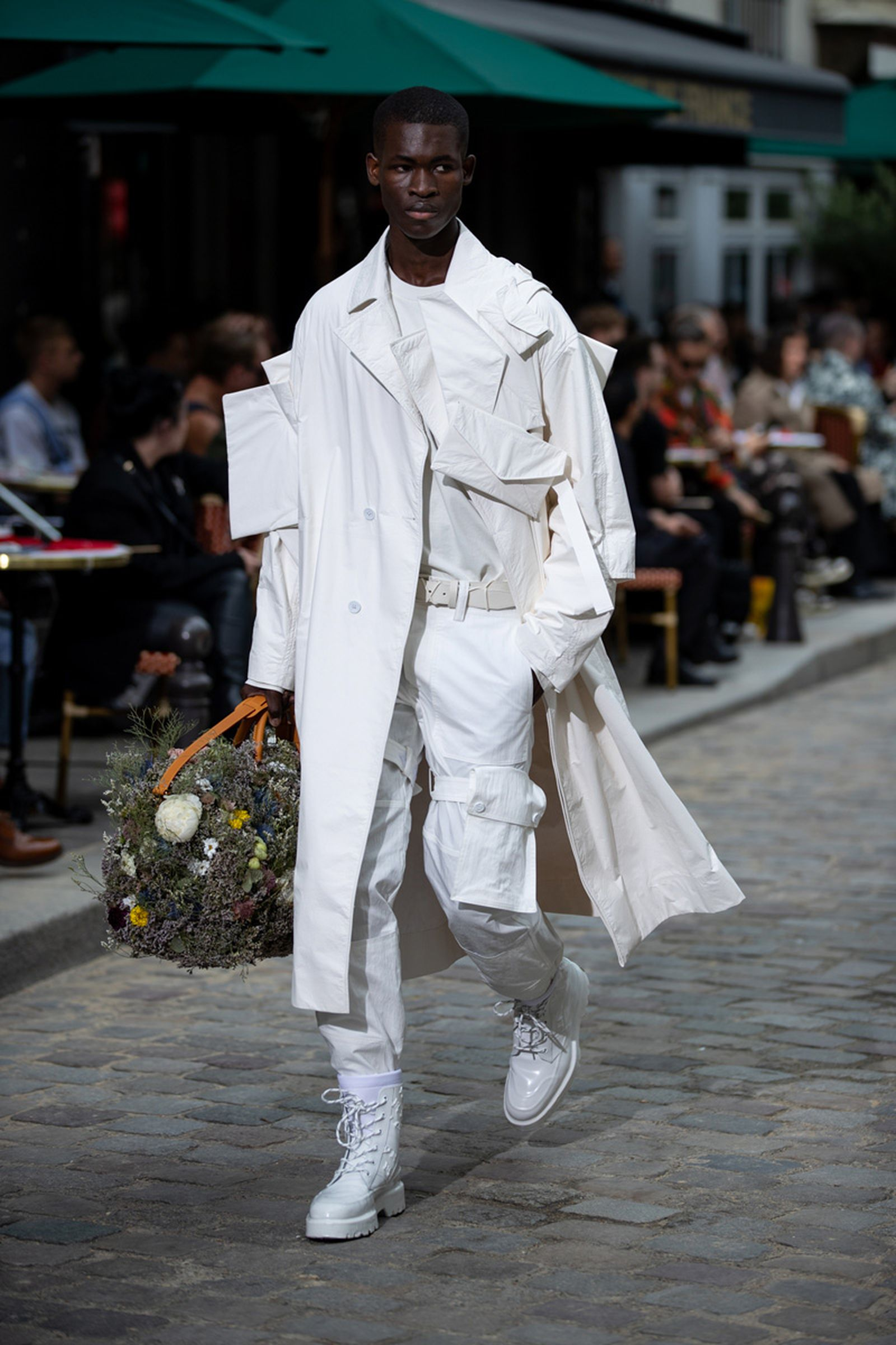 louis vuitton ss20 paris fashion week runway