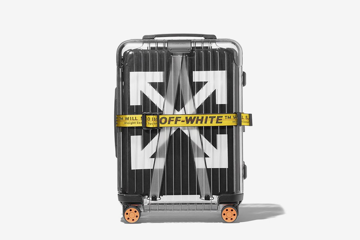 Clear Suitcase