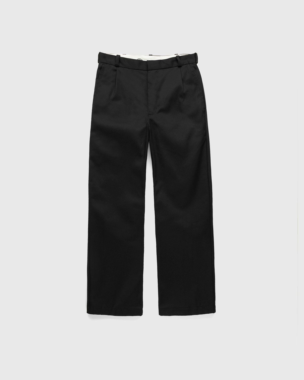 Highsnobiety x Dickies – Pleated Work Pants Black - Image 1