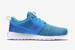 "promo code 42336 18b52 Nike Roshe One Flyknit Premium Releases in ""Photo Blue"" for Summer 2015"