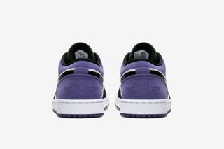 """newest 4dcf4 e78a4 Nike Air Jordan 1 Low """"Court Purple"""": Rumored Release Info"""