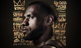 LeBron James Covers 'NBA 2K19 20th Anniversary Edition'
