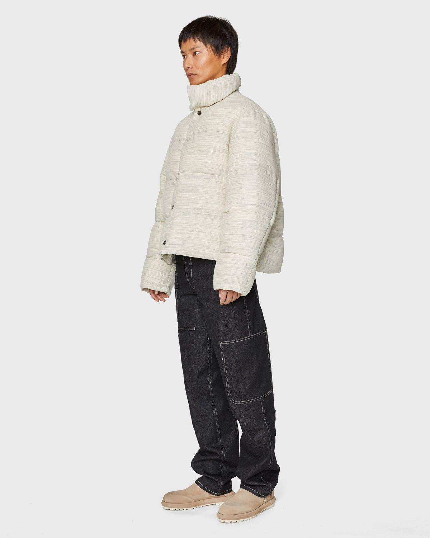 JACQUEMUS — La Doudoune Jacket Beige - Image 3