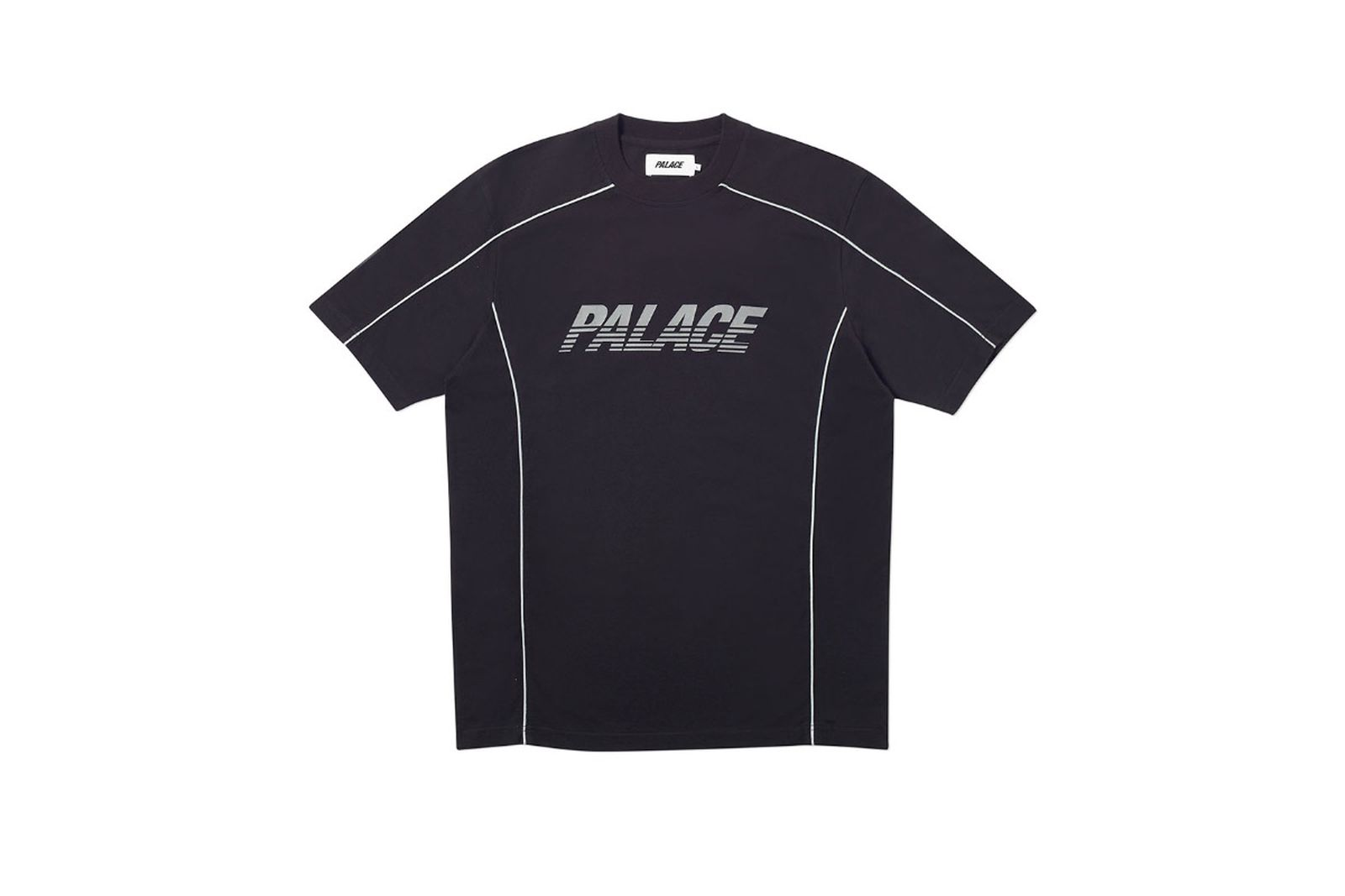 Palace 2019 Autumn T Shirt Pimped black front fw19
