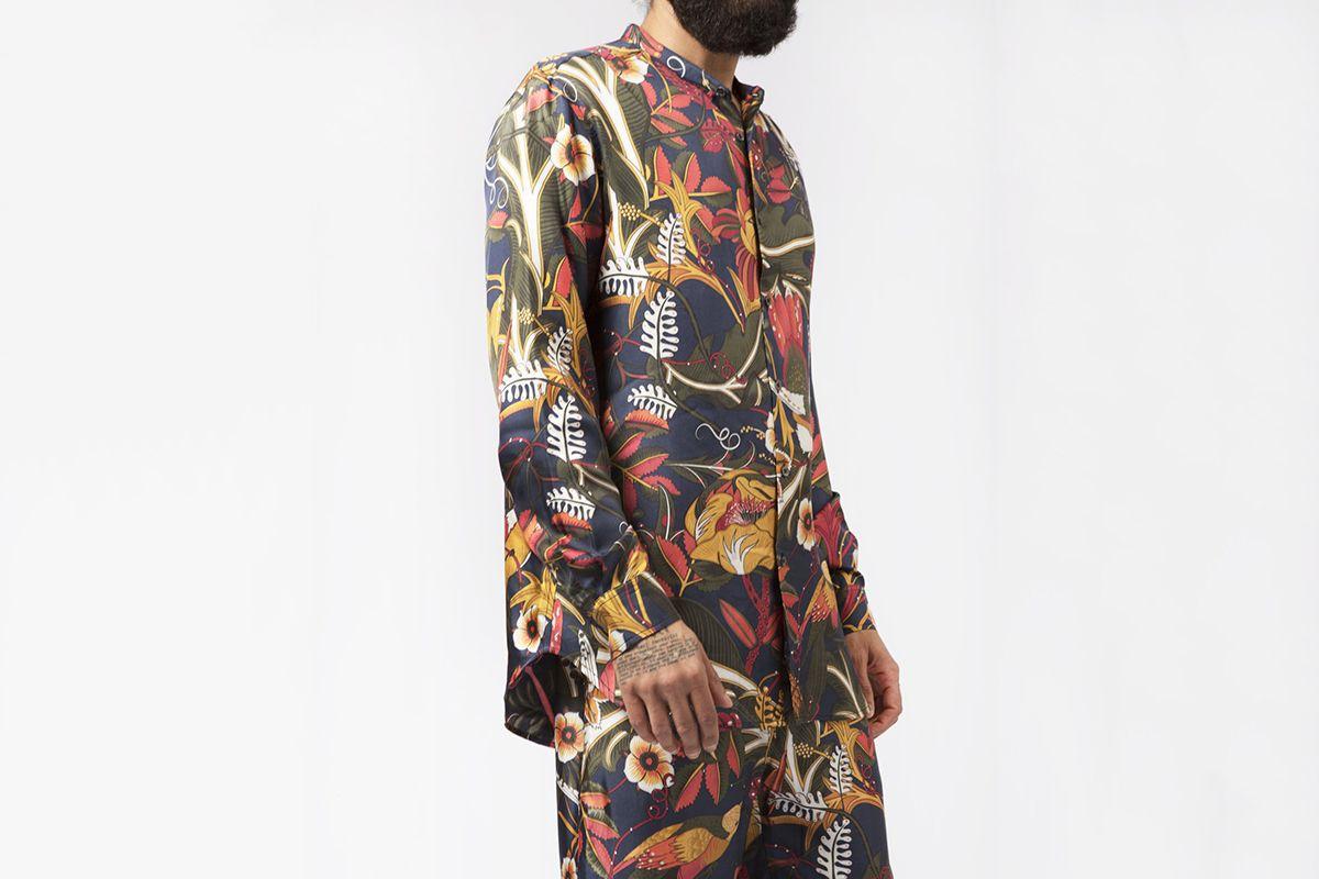Slim Grandad Shirt New Life