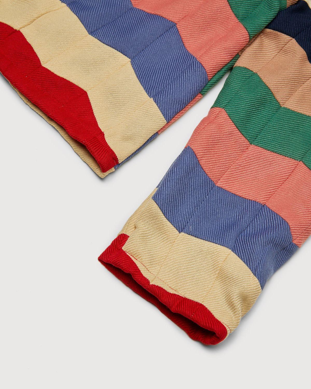 BODE - Chevron Quilt Zip Pullover Multi - Image 3