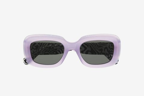 Zebra Print Virgo Sunglasses