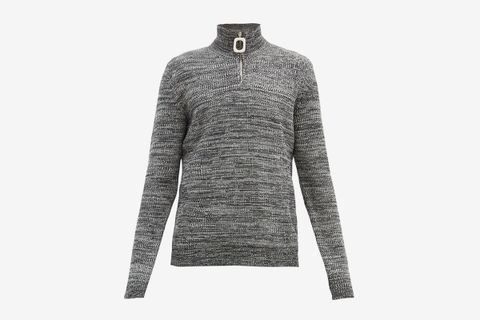 Roll-Neck Merino-Wool Sweater
