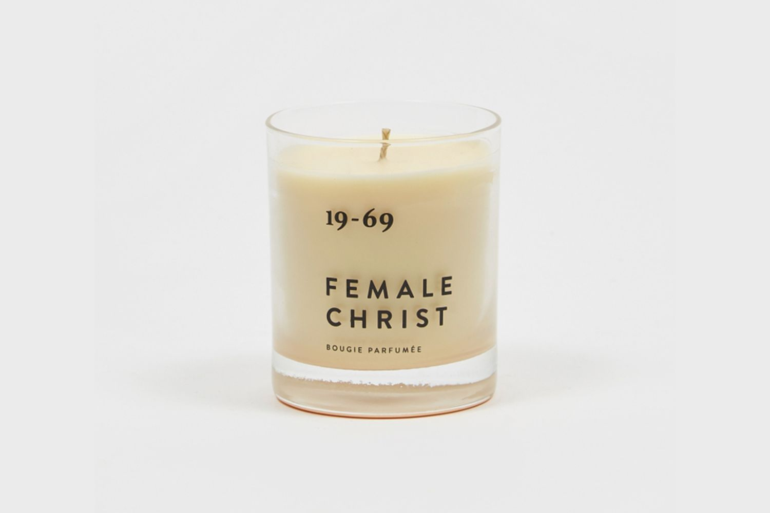Female Christ Candle