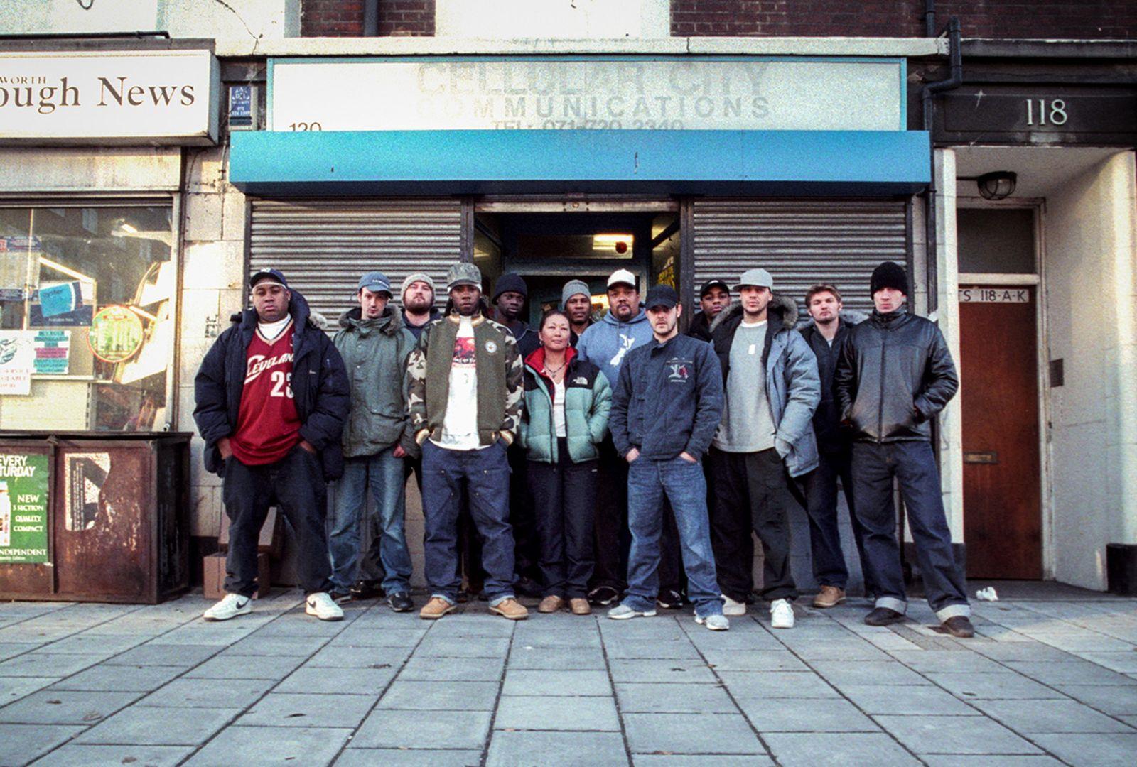 Renegade Hardware crew, South London, 1998
