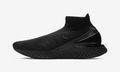 "Nike's Rise React Flyknit Gets the ""Triple Black"" Treatment"
