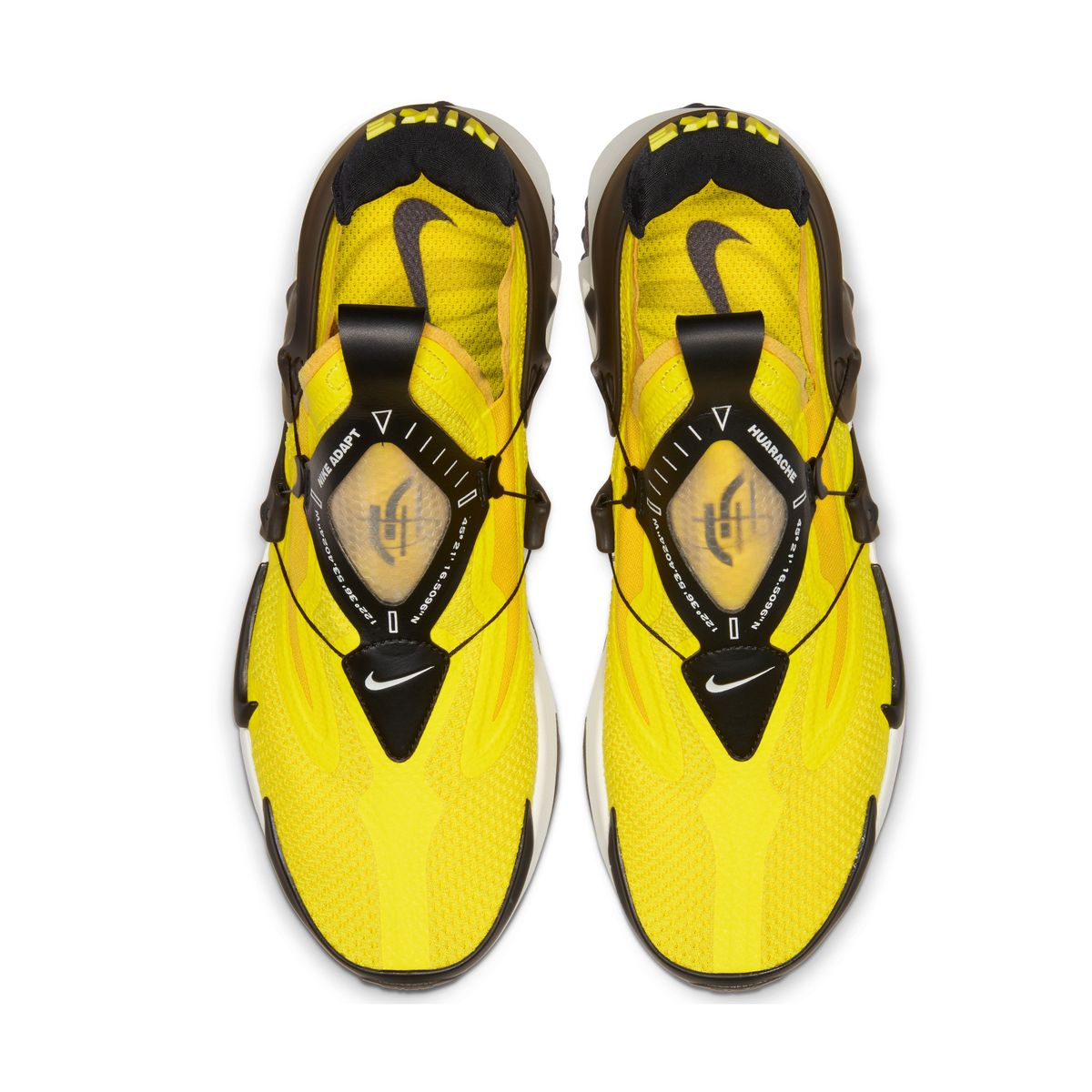 Nike — Adapt Huarache Yellow - Image 5