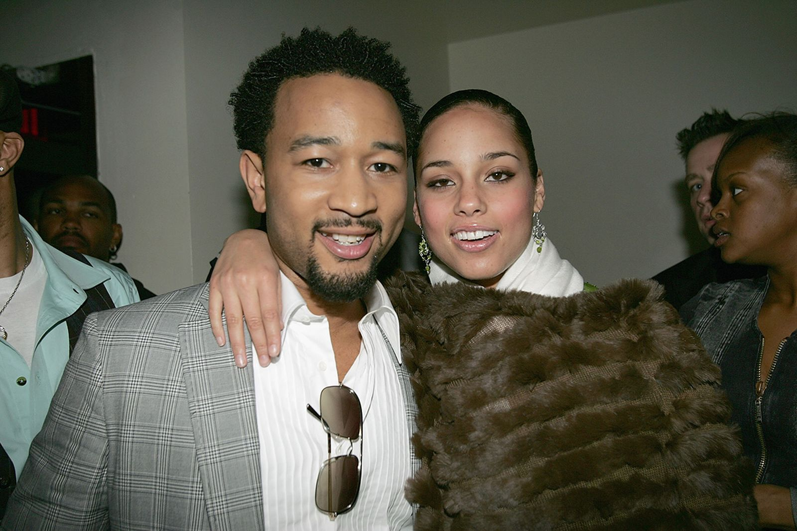 "John Legend and Alicia Keys attend the wrap party for Keys' ""Diary Tour"""