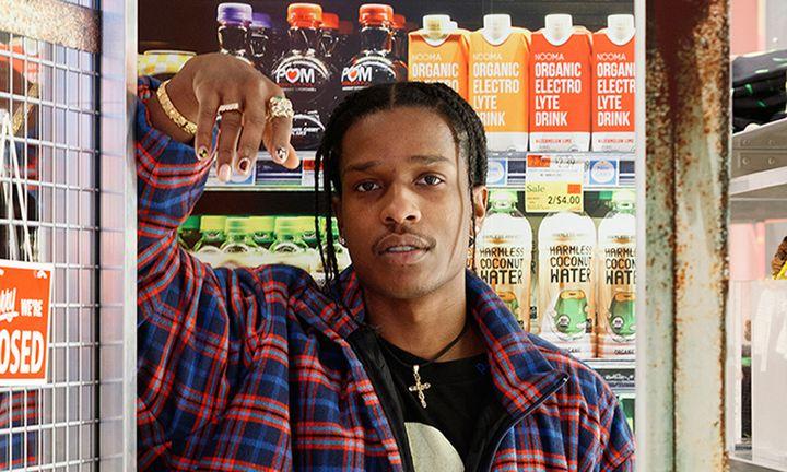 A$AP Rocky AWGE Selfridges store