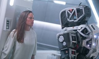 A Teenage Girl Is Raised by a Robot to Repopulate Earth in Netflix's 'I Am Mother'