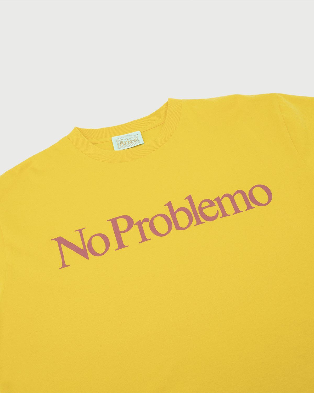 Aries - No Problemo Tee Yellow - Image 2