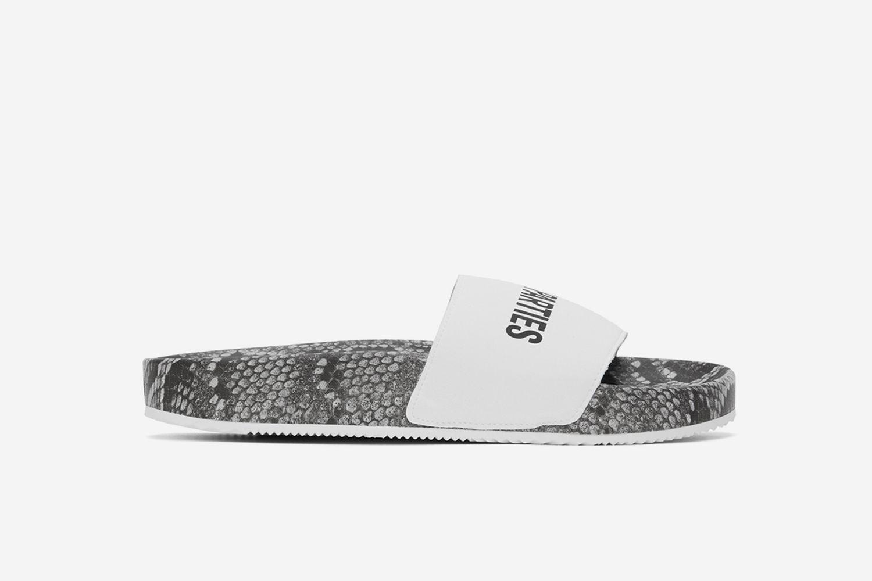 Python Slip-On Sandals