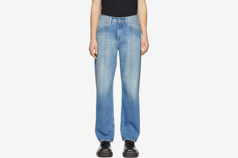 Blue Formal Cut Jeans