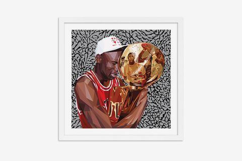 Michael Jordan artworks