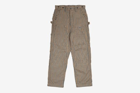 Linen Blues Hickoree Lumber Pants