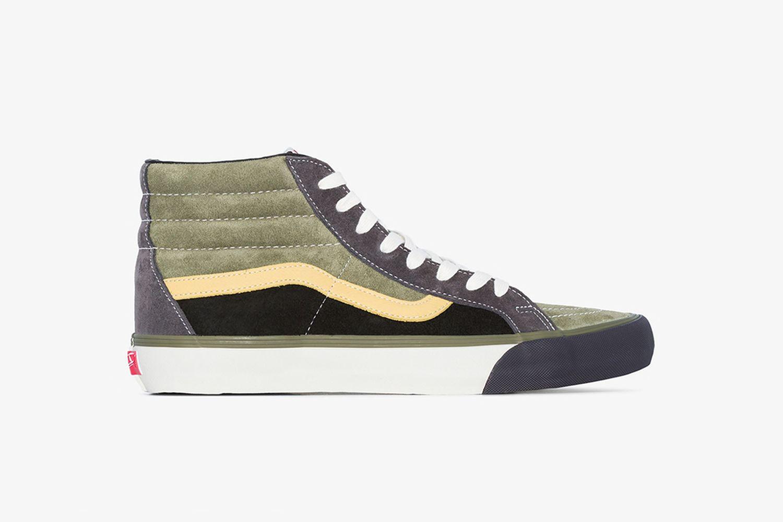SK8 Reissue Suede High-Top Sneakers