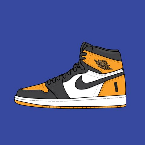 "99358690 Shinedown x Nike Air Jordan 1 PE ""Attention Attention"""