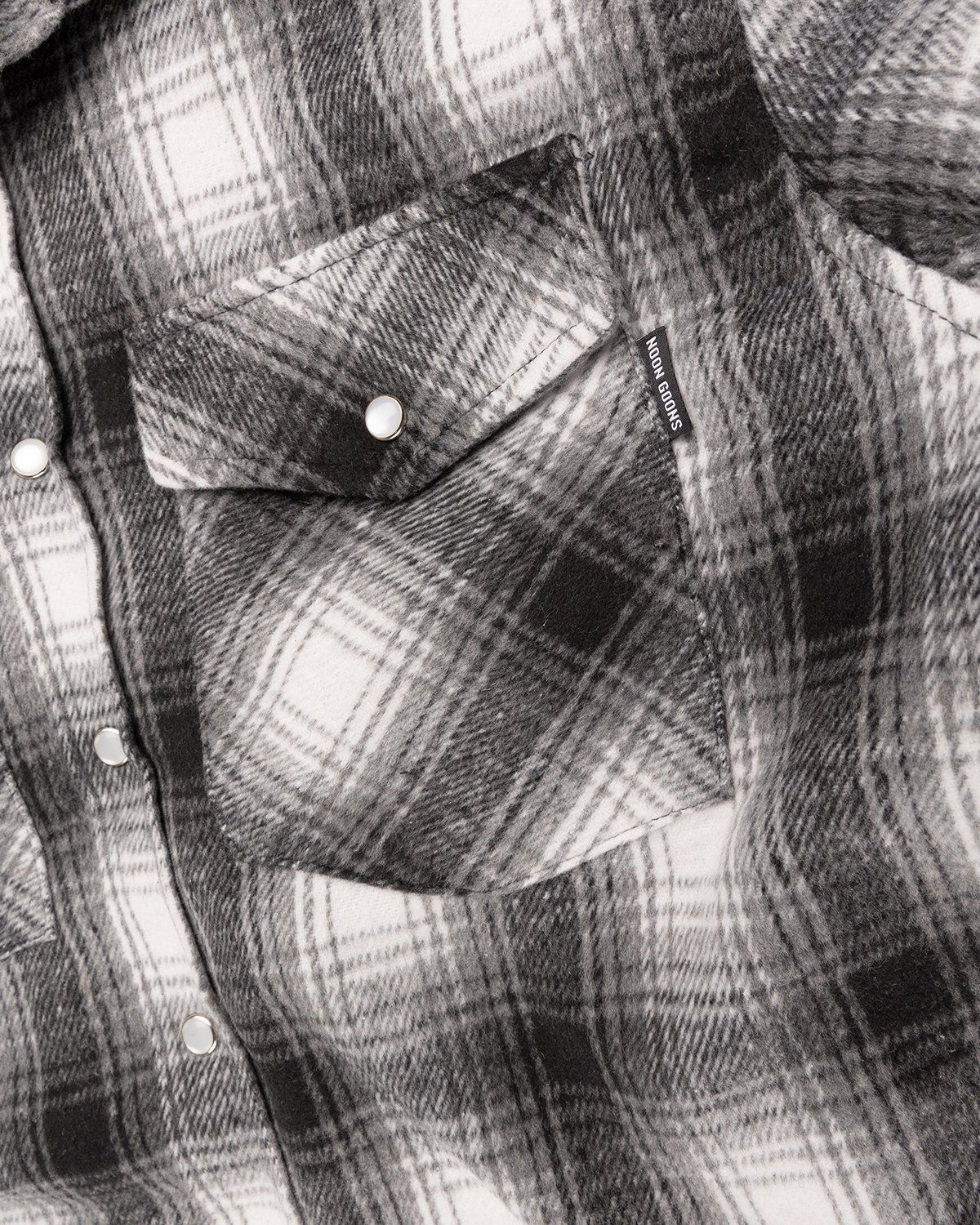 Noon Goons — Tahoe Quilted Flannel Grey - Image 4