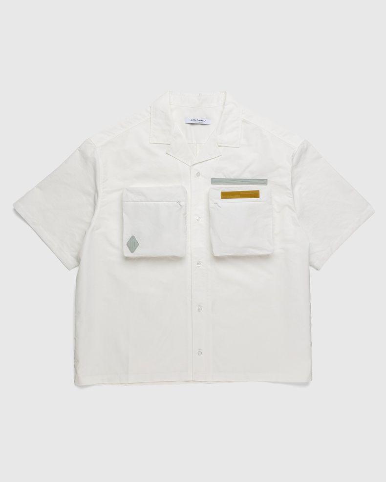 A-COLD-WALL* – Cuban Collar Shirt White