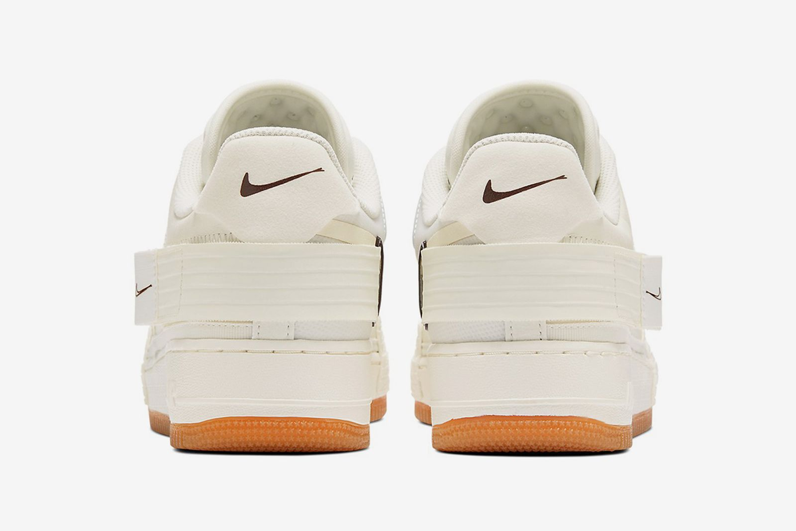 "Nike Air Force 1 Type ""Light Ivory/Earth Brown"""
