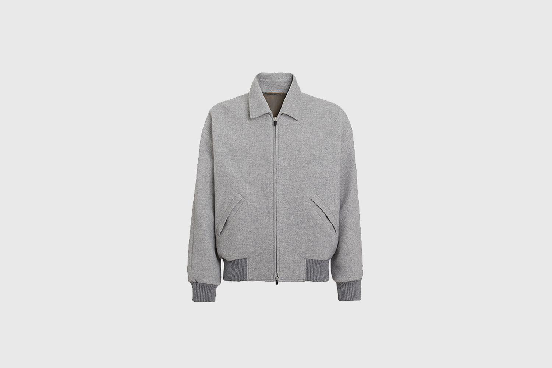 Fear of God Exclusively for Ermenegildo Zegna  Wool Short Jacket