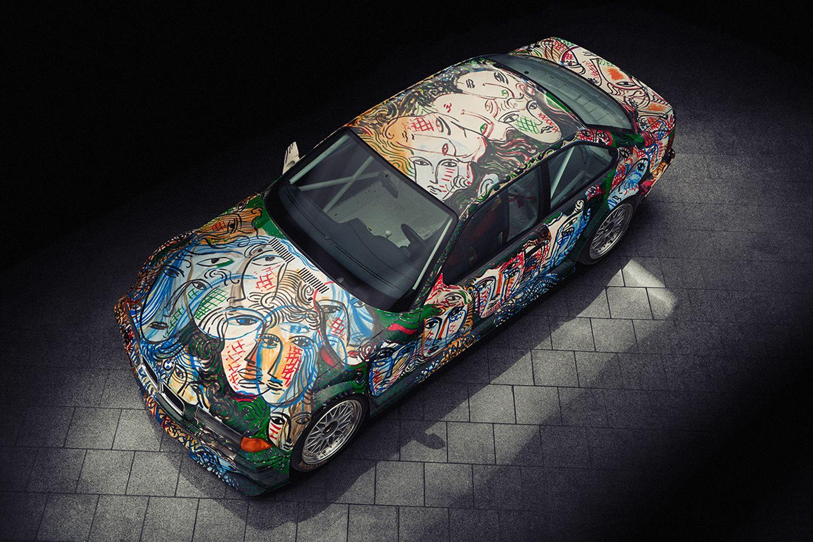 BMW Art Car 13, Sandro Chia, 1992