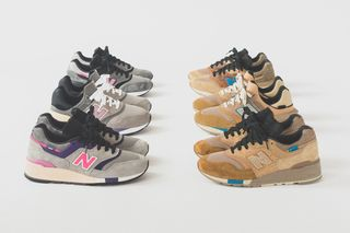 quality design 895bf 93557 Ronnie Fieg Unveils Six Colorways for KITH x New Balance Collab