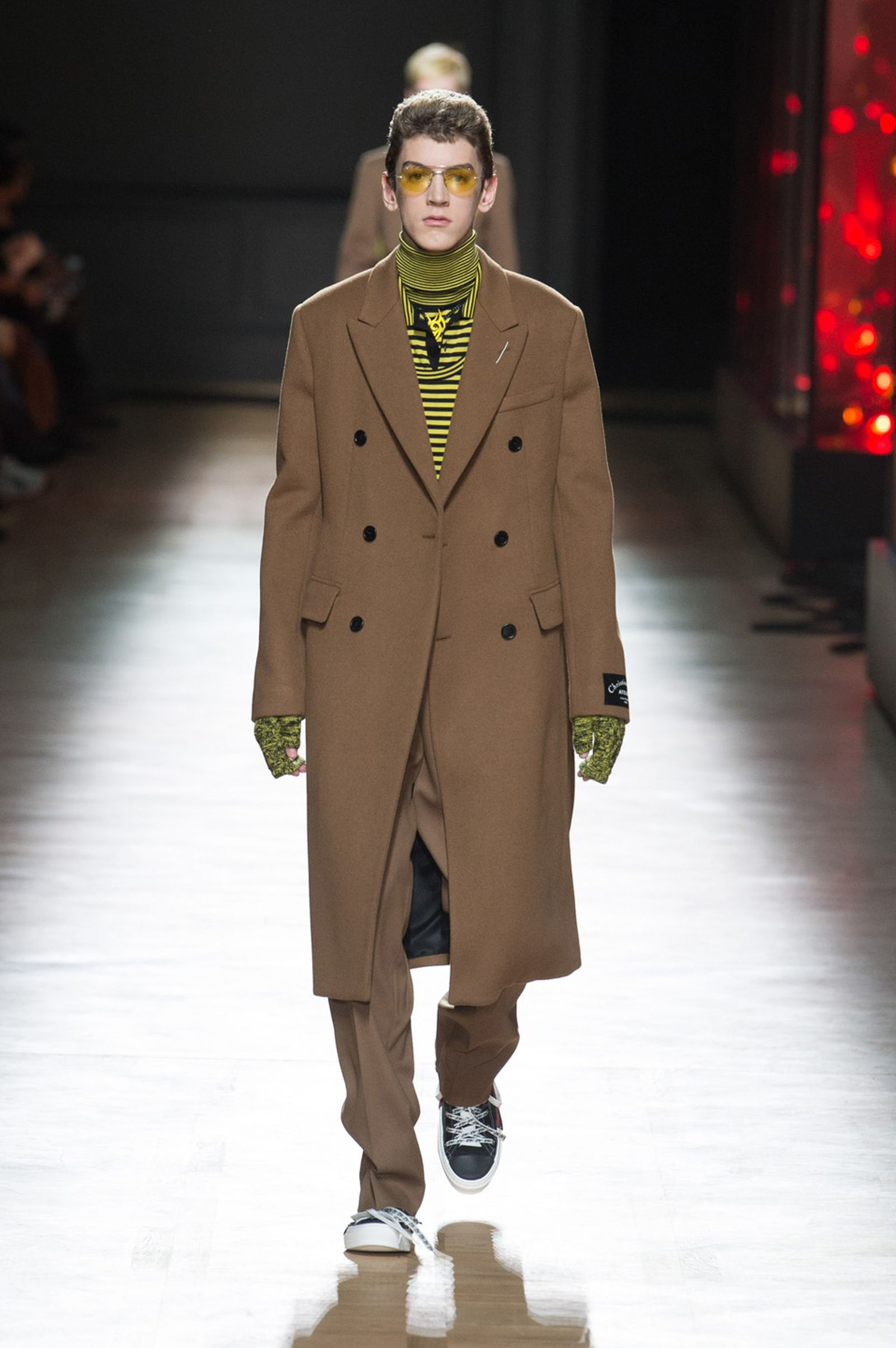DIOR HOMME WINTER 18 19 BY PATRICE STABLE look36 Fall/WInter 2018 runway