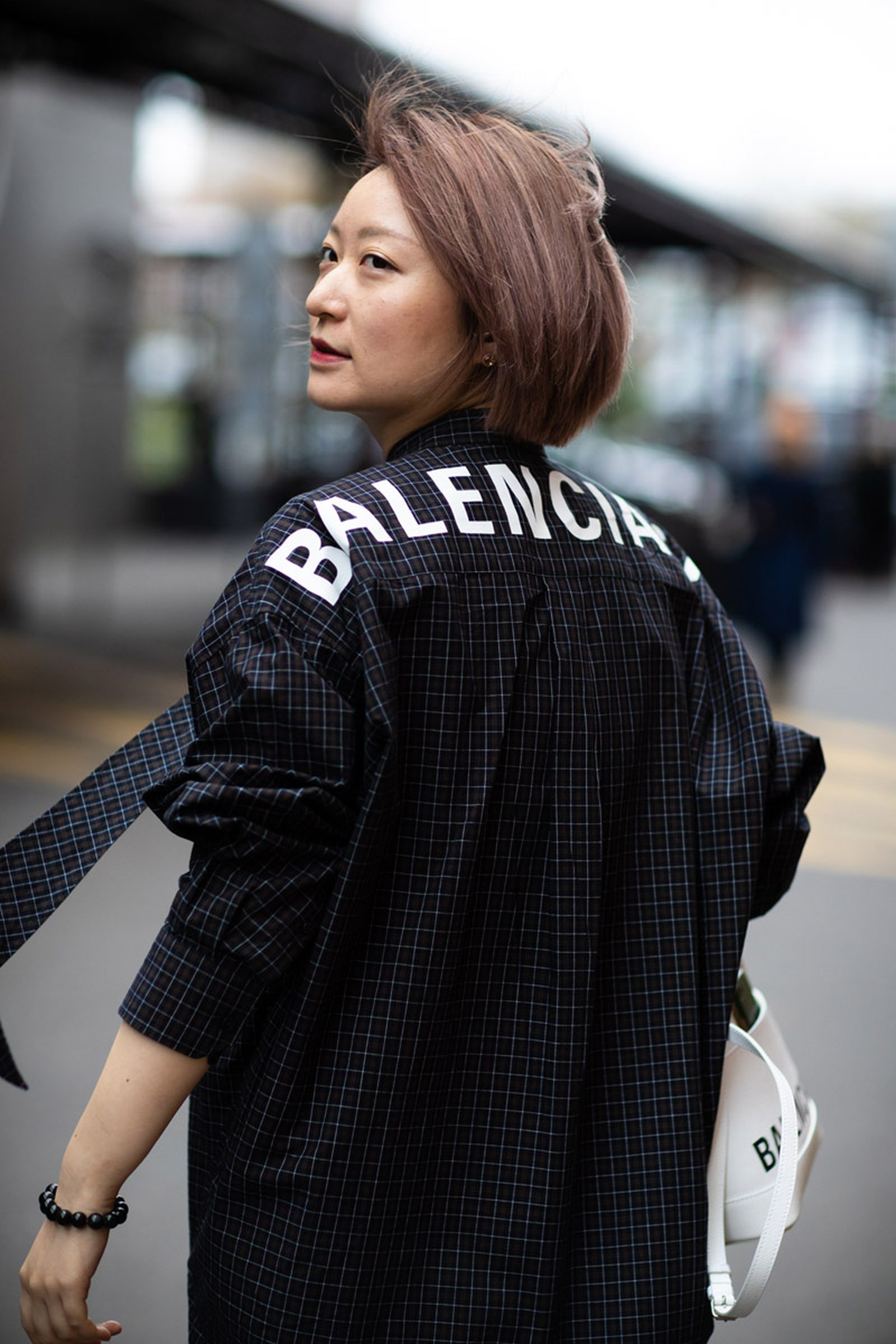WFW19 Paris StreetStyle EvaAlDesnudo 09 Balenciaga Demna Gvaslia