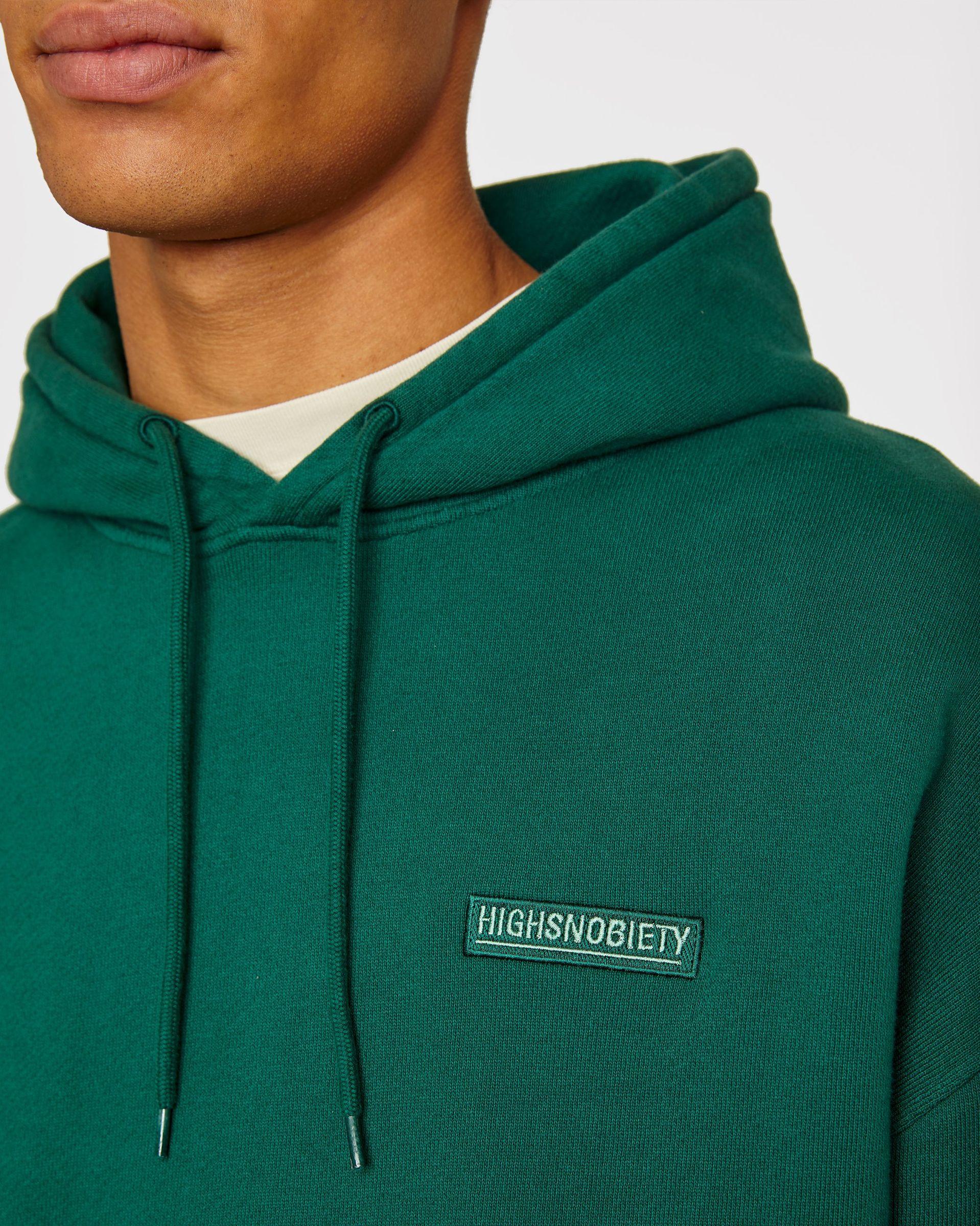 Highsnobiety Staples - Hoodie Green - Image 5