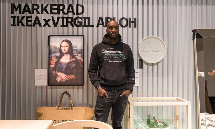 virgil abloh ikea markerad collection feature