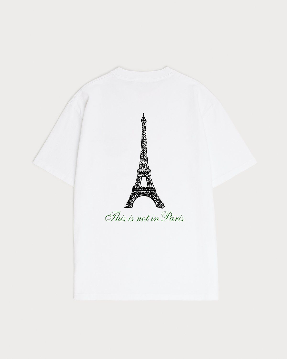 Not In Paris Presented By Highsnobiety - T-Shirt White - Image 2