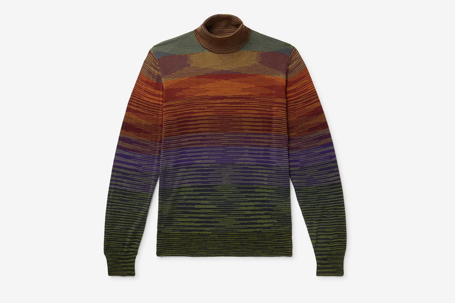 Space-Dyed Rollneck Sweater