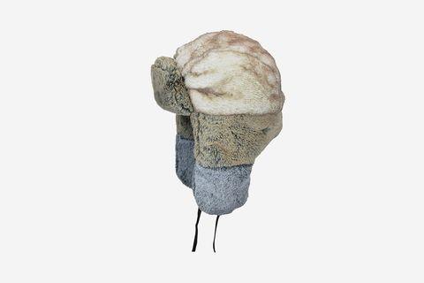 Multi Faux Fur Trapper Hat