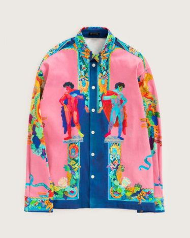Versace Denim Jacket Multicolour