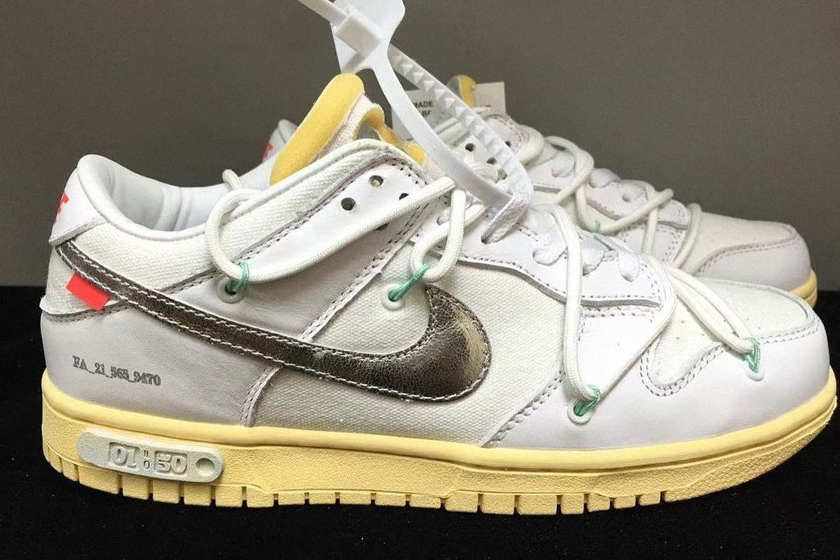 Behold, the Best Off-White™ x Nike Dunk Low Yet