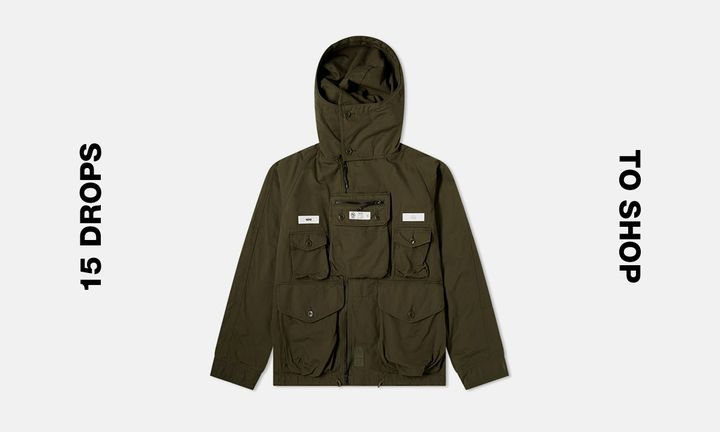 NEIGHBORHOOD Japan Green Military Jacket